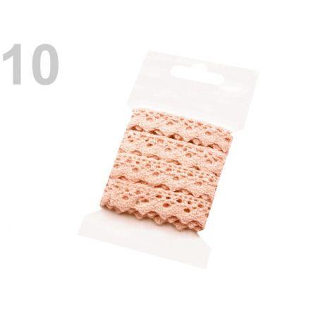Bavlněná krajka šíře 15 mm paličkovaná 3 m
