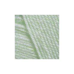 Pletací příze Baby - zelenkavá