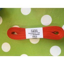 Taftová stuha oranžová  9mm