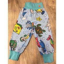 Plátěné kalhoty auta 98/104