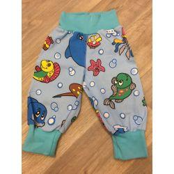 Plátěné kalhoty 80