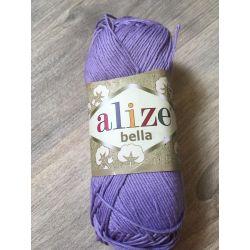 Háčkovací a pletací příze bella - fialová