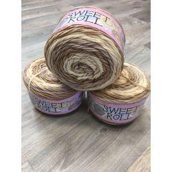 Sweet Rool - hnědá, béžová, oranžová