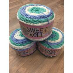 Sweet Rool - hnědá melír