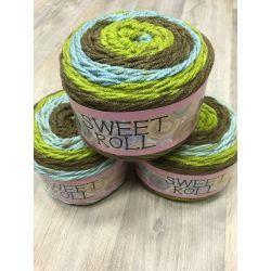 Sweet Rool - zelená, modrá, hnědá