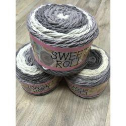 Sweet Rool - šedá, smetanová melír