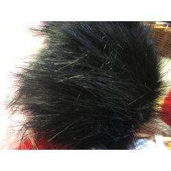 Pompon velká bambule - černá