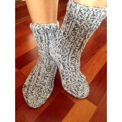 Ponožky černobílá