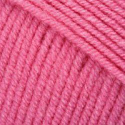Háčkovací příze GINA - neonově růžová