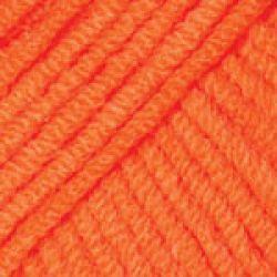 Háčkovací příze GINA - neonově oranžová