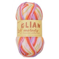 Elian Melody - melír hnědá bílá