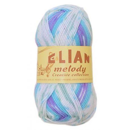 Elian Melody - melír modrá, bílá