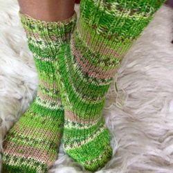 Ponožky zelená