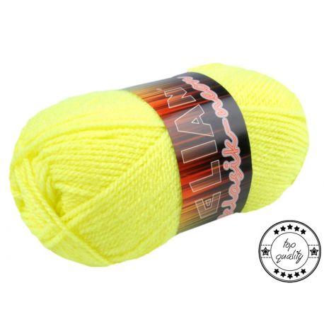 Pletací příze Elian Neon - žlutá