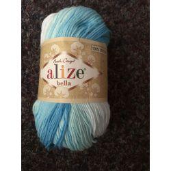 Bella batic - modro bílá