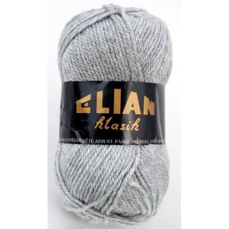 Elian Klasik - šedá/melír