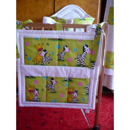 Kapsář zelená, zebra a žirafa