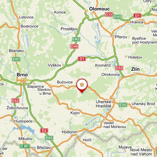 Mapa obchodu ©mapy.cz